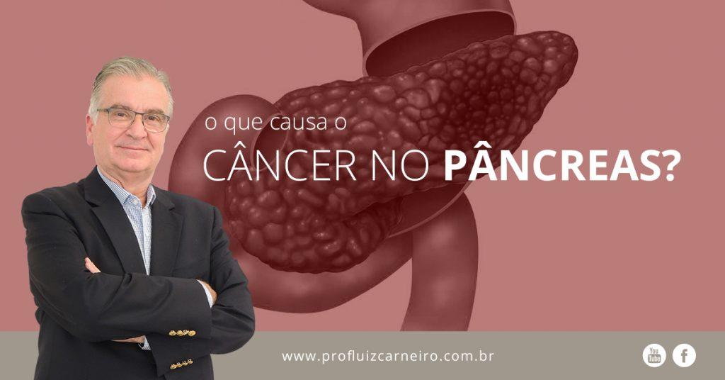 Câncer no pâncreas: o que causa? - Por Prof. Dr. Luiz Carneiro - USP