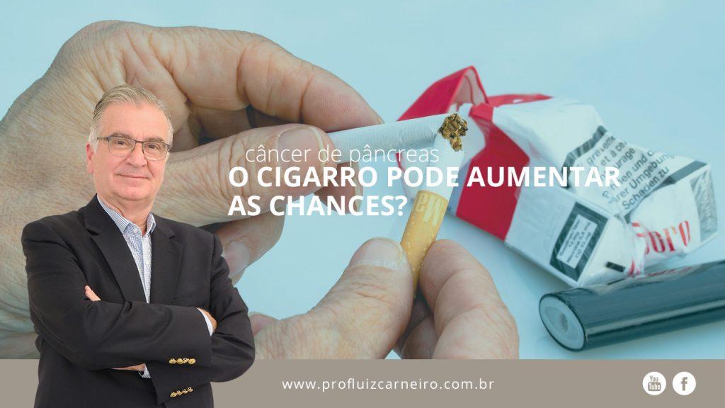 O cigarro pode aumentar as chances de câncer de pâncreas? | Por Prof Luiz Carneiro CRM 22761 | Diretor do serviço de transplante e cirurgia do fígado do hospital das clínicas da faculdade de medicina da USP.